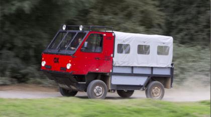 OX: O caminhão que pode ser construido à mão em 12 horas