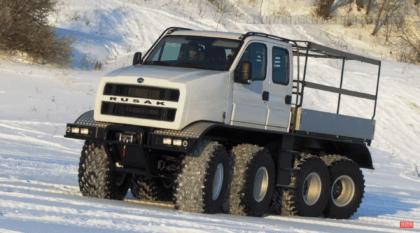 Rusak 8×8: o monstro russo projetado para superar qualquer obstáculo