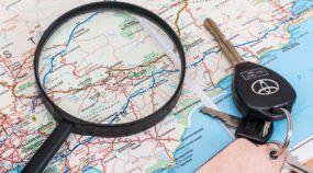 rastreamento do carro via celular e com mapa