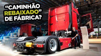 Caminhão rebaixado de fábrica feito pela Mercedes-Benz? Como assim?