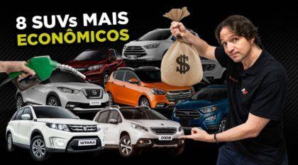 Conheça os oito SUVs mais econômicos do Brasil em 2018 (incluindo notas de segurança)