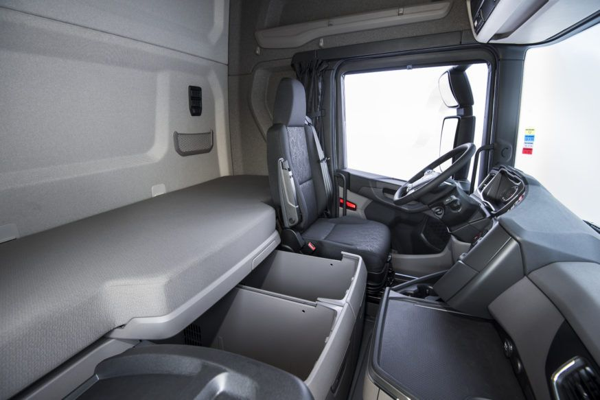 Interior cabine Nova Geração Scania