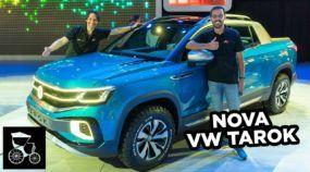 Nova Picape Volkswagen TAROK (Veja tudo sobre a futura rival da Fiat Toro)