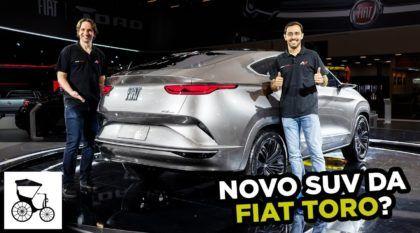 Novo SUV da Toro? Veja de perto o Fiat Fastback (com sua traseira surpreendente)