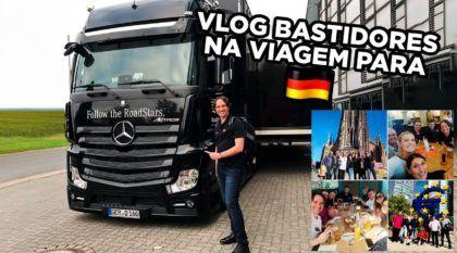 Bastidores na Alemanha: VLOG da nossa viagem (tem carros, ônibus, caminhões e muito mais)