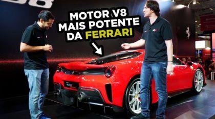 Veja de perto e por dentro a Ferrari 488 Pista (com motor V8 mais potente da história da marca)