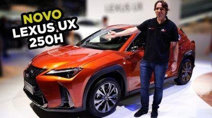 Lexus UX 250h: Novo SUV da marca de luxo da Toyota (de perto e em detalhes)
