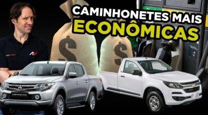caminhonetes mais econômicas do Brasil
