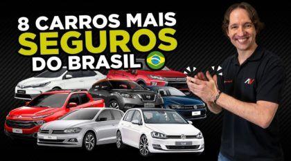 8 carros mais seguros do Brasil 2018 (para quem valoriza Vida e Saúde)