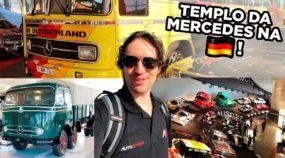 Você no Templo da Mercedes na Alemanha