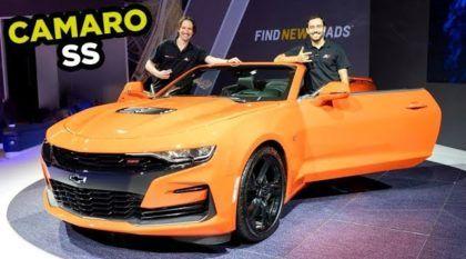 Chevrolet Camaro SS 2019: será que ele está melhor que o Ford Mustang?