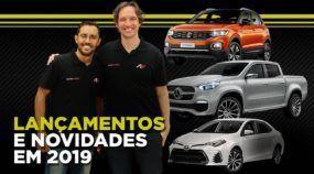Lançamentos 2019: carros e novidades automotivas