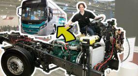 A alma de um ônibus urbano da Volvo: chassi B270F no Caio Apache Vip