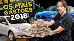Carros mais gastões do Brasil