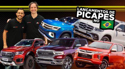 Lançamentos de picapes e caminhonetes no Brasil (Papo Liam Mattera e Conrado Navarro)