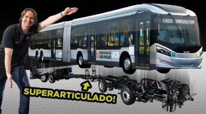 Revelado de corpo e alma: Ônibus Urbano Superarticulado Mercedes-Benz