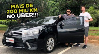 carros bons para Uber