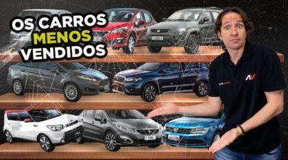 Carros menos Vendidos do Brasil