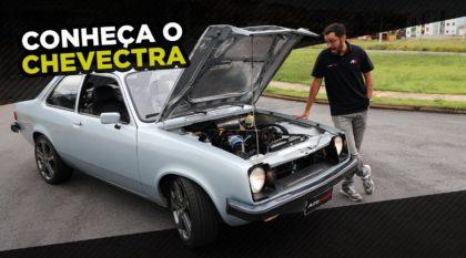 Chevette com motor de vectra
