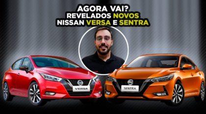 Nissan Sentra e Versa