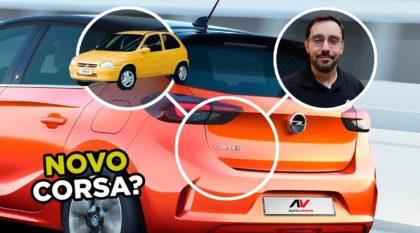 Novo Opel Corsa 2020 com Conrado Navarro do AutoVideos