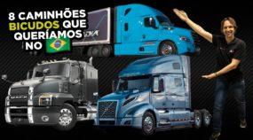 caminhões bicudos