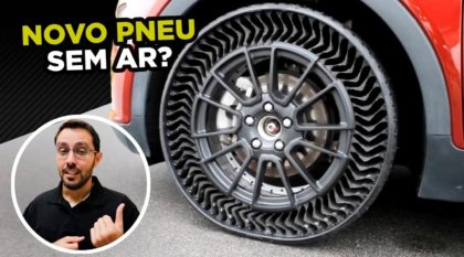 Novo e revolucionário pneu sem ar (que nunca fura)? Veja detalhes e primeiras imagens