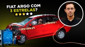 Crash test do Fiat Argo