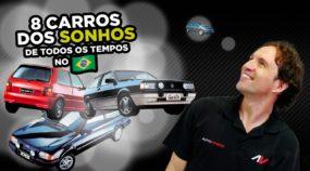 8 Carros que eram sonhos de consumo (nos anos 70, 80, 90 e 2000 no Brasil)