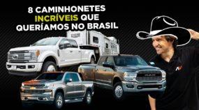 8 Picapes e Caminhonetes BRUTAIS que queríamos no Brasil (incluindo modelos que você nunca ouviu)
