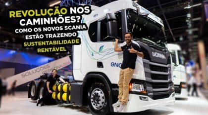 Revolução nos caminhões Scania
