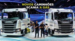 Scania a gás