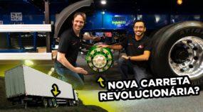 Nova Carreta Revolucionária: Randon revela o Primeiro Semirreboque com Tração Elétrica (Hybrid R)