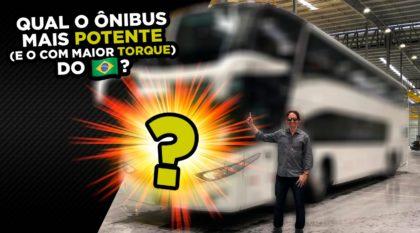 ônibus mais potente
